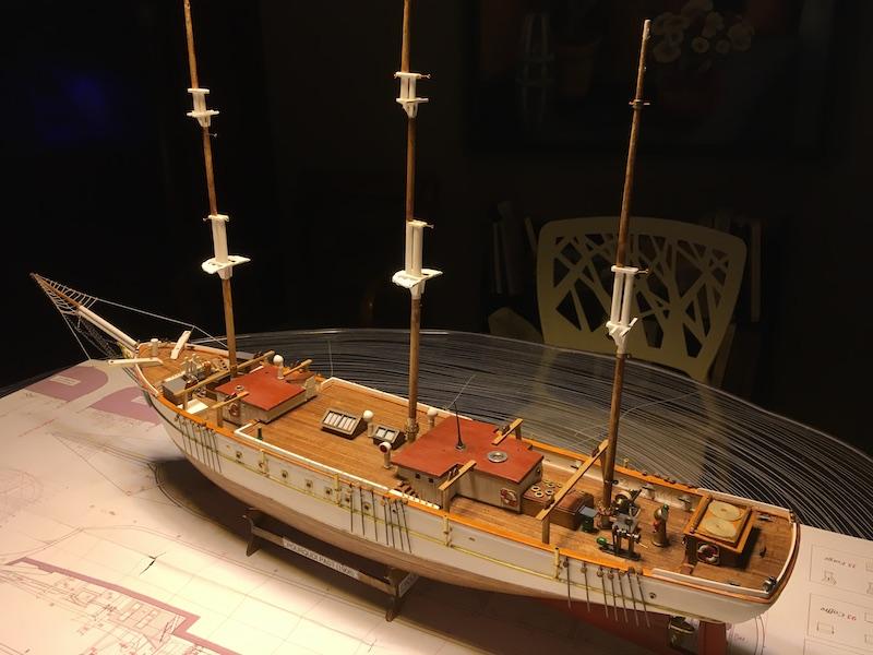 3-mâts barque Pourquoi Pas? - 2) Gréement (Billing Boats 1/75°) de Yves31 - Page 6 912_ca10