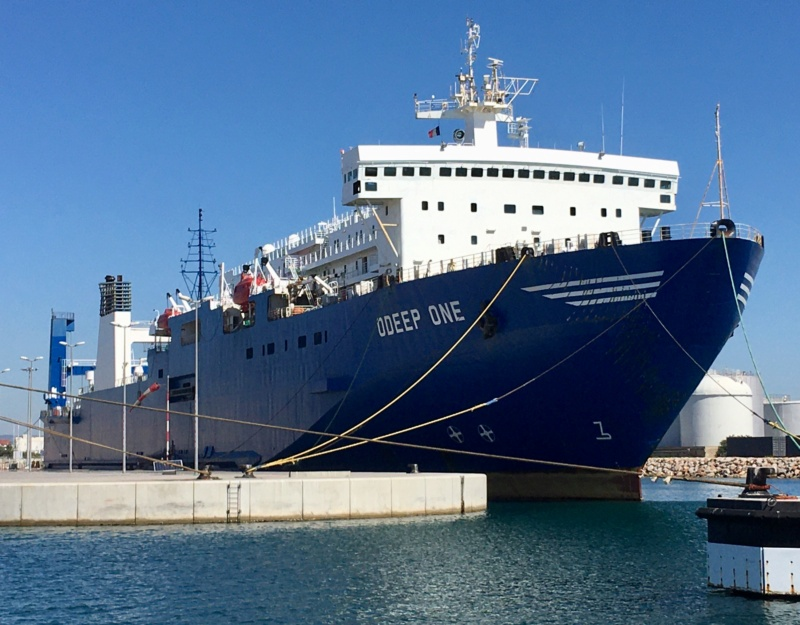 Odeep One : navire pêcheur d'eau Fc980110