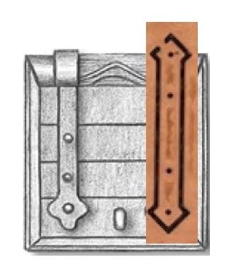 Comment appliquer les gonds de mantelet en PE du kit Corel ? Mantel10
