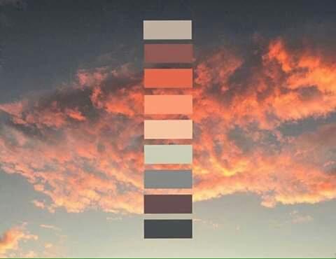 تناسق الألوان في الطبيعة Eeeoee46