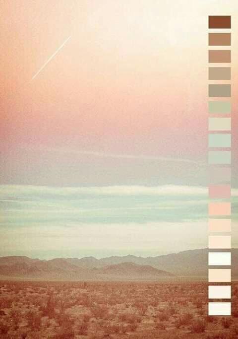 تناسق الألوان في الطبيعة Eeeoee52