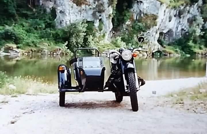 Un projet fou, la route de la soie avec un side R100 de 1964 42566710