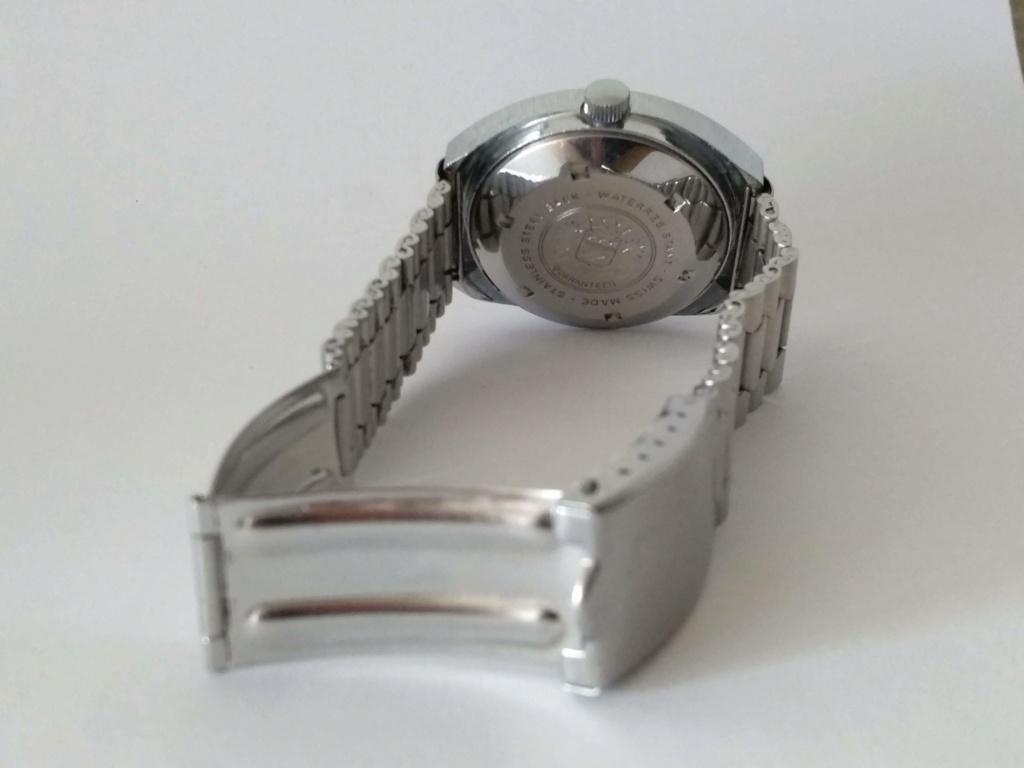 [Vendido] Sicura (Breitling) relógio de discos Mecânico Automático vintage em Estado Original 411