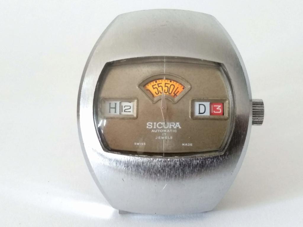 [Vendido] Sicura (Breitling) relógio de discos Mecânico Automático vintage em Estado Original 511