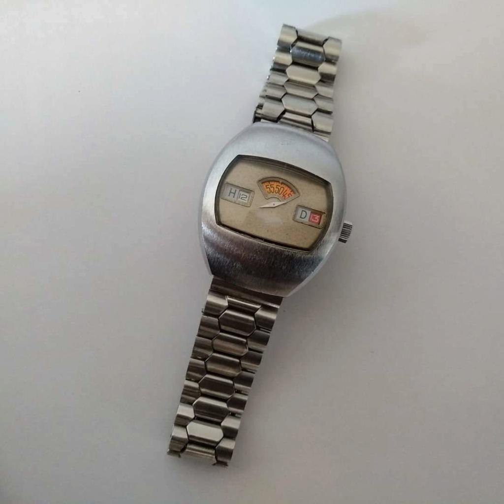 [Vendido] Sicura (Breitling) relógio de discos Mecânico Automático vintage em Estado Original 910