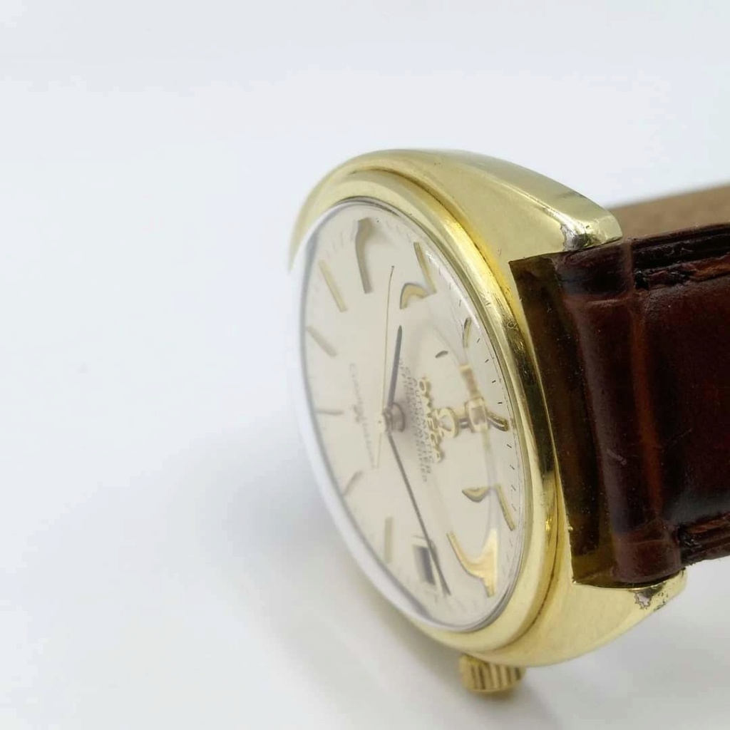 [Vendido] Omega Constellation, plaqueado a ouro com bisel em ouro maciço Cal. 564, 1967, Chronometer Img_2025