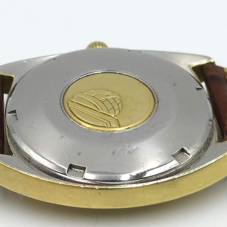 [Vendido] Omega Constellation, plaqueado a ouro com bisel em ouro maciço Cal. 564, 1967, Chronometer Img_2027