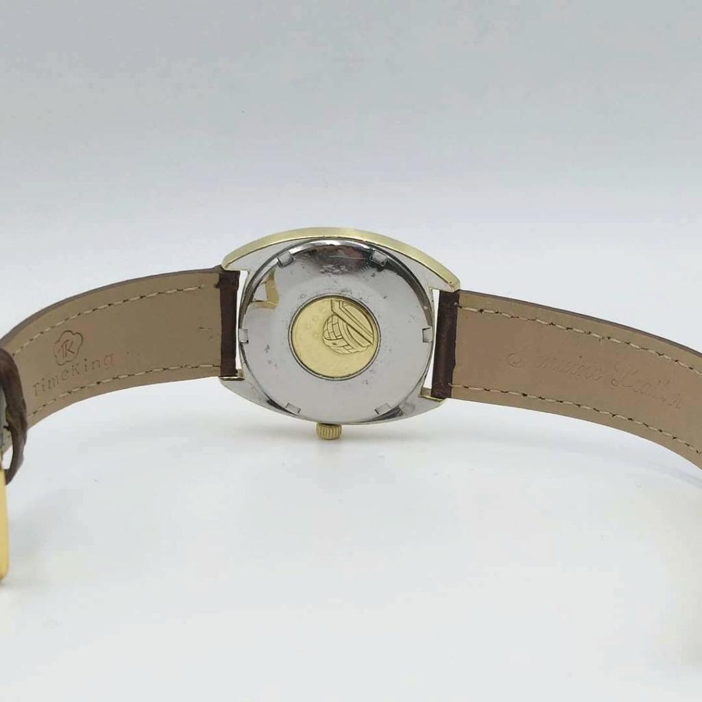 [Vendido] Omega Constellation, plaqueado a ouro com bisel em ouro maciço Cal. 564, 1967, Chronometer Img_2028