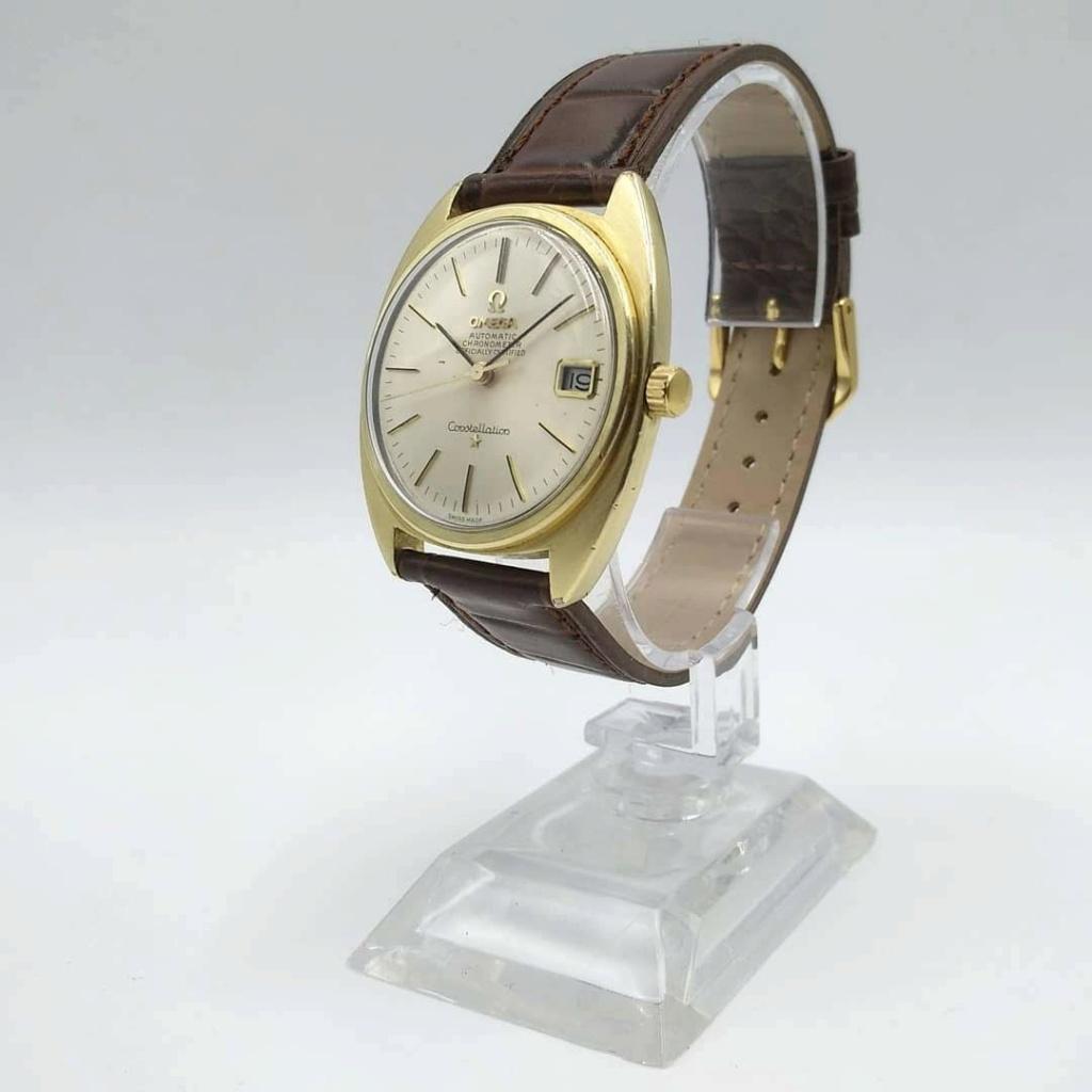 [Vendido] Omega Constellation, plaqueado a ouro com bisel em ouro maciço Cal. 564, 1967, Chronometer Img_2031
