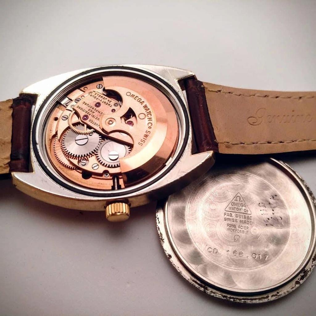 [Vendido] Omega Constellation, plaqueado a ouro com bisel em ouro maciço Cal. 564, 1967, Chronometer Img_2033