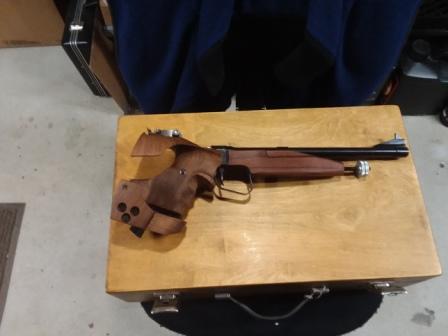 WTS: TOZ 35 Free Pistol Fp10