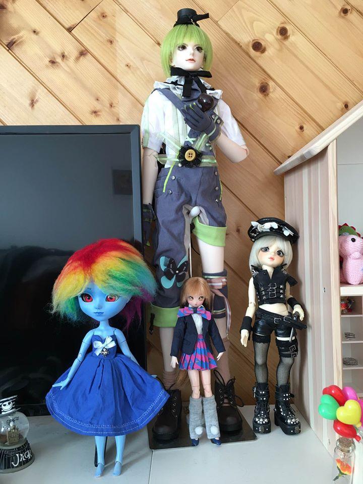 [Vends] Azone 50cm, Pullips, Dal, Anime Doll (gros tri) 82436810