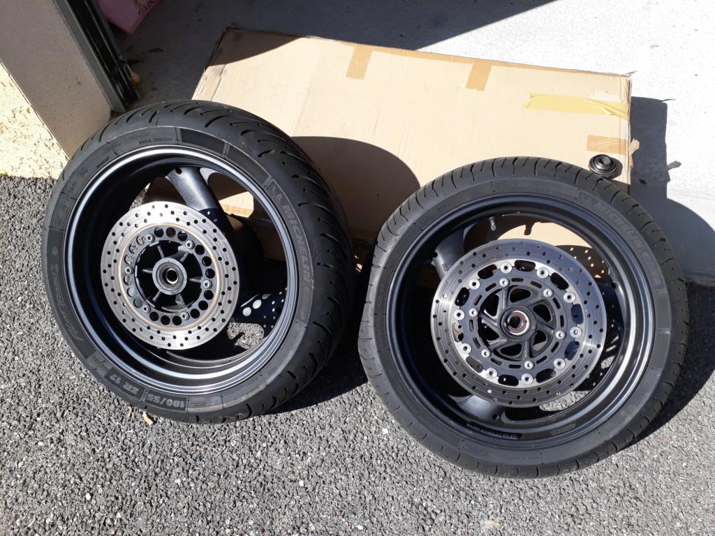Jantes et pneus Michelin Pilot Road 4 [VENDU] 20190321
