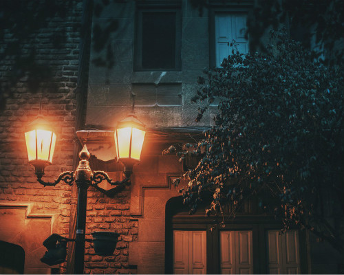 Podjazd od strony ulicy Lamp-p10