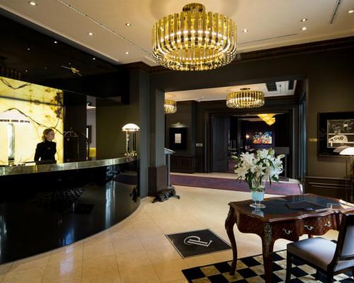 Hotel Diamand **** Recepc10