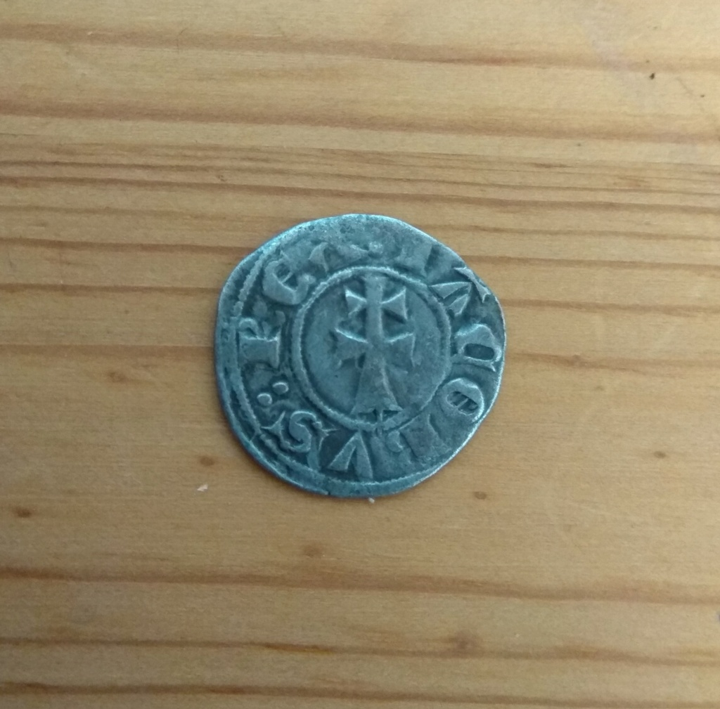 Dinero de Jaime II. Sariñena Img_2034