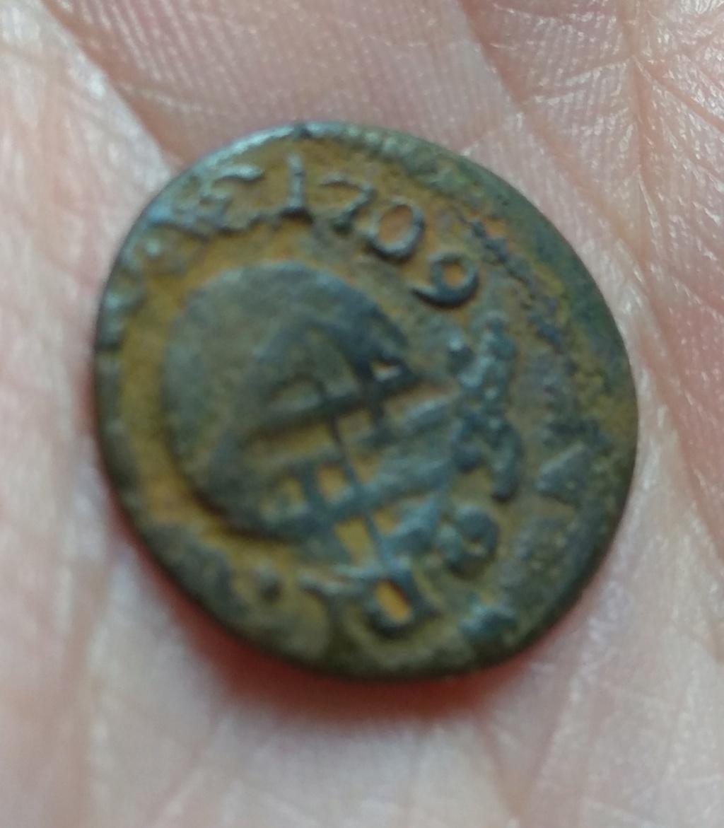 Ardite de Carlos III, el pretendiente, 1709. Img_2093