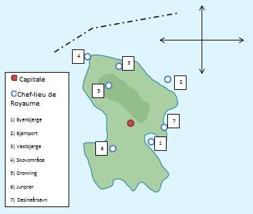 Union des 7 Royaumes d'Isøen Villes10