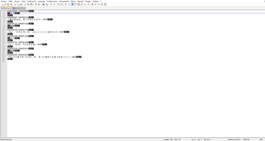 Tengo un problema con Notepad++ Traduc13