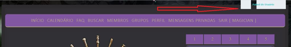 Excluir painel de usuário da parte superior Painel10
