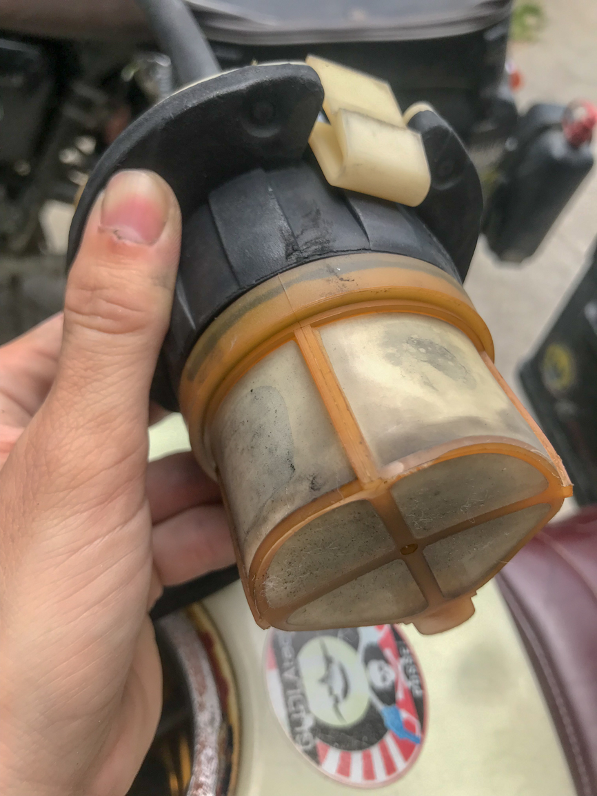 Fuel system problem? Random problem Bmw_k111