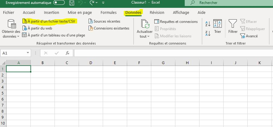 Transcription des sources Csv_110