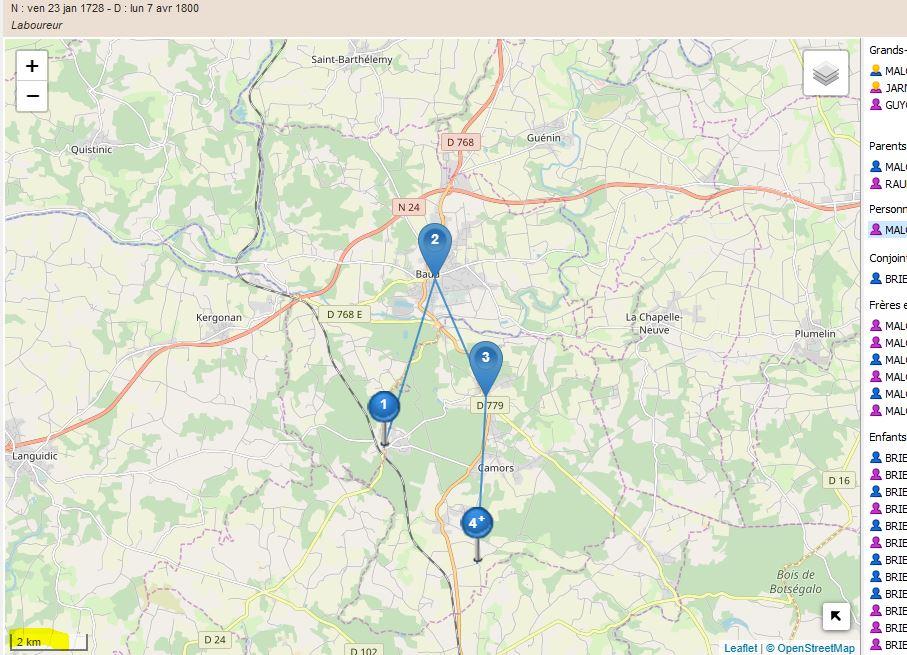 Astuce pour pointer rapidement nos subdivisions, et seulement celles connues par OSM (OpenStreetMap) Migrat13