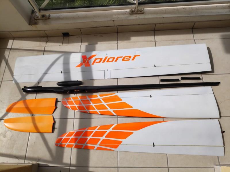 F5j Xplorer 3 V 4m electro baisse de prix 20190910