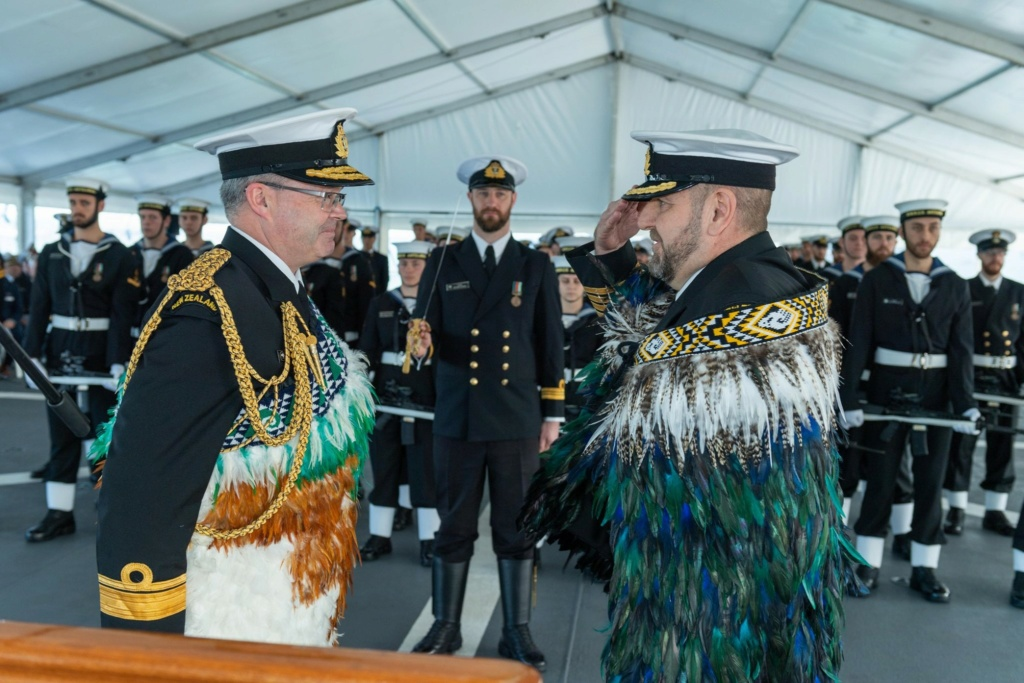Actualités de la marine néo-zélandaise 30-88910