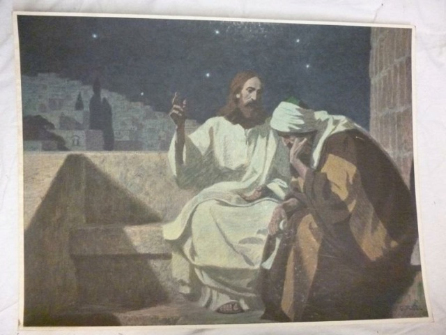 Gebhard Fugel (1863-1939), peintre allemand d'art sacré. 22789617