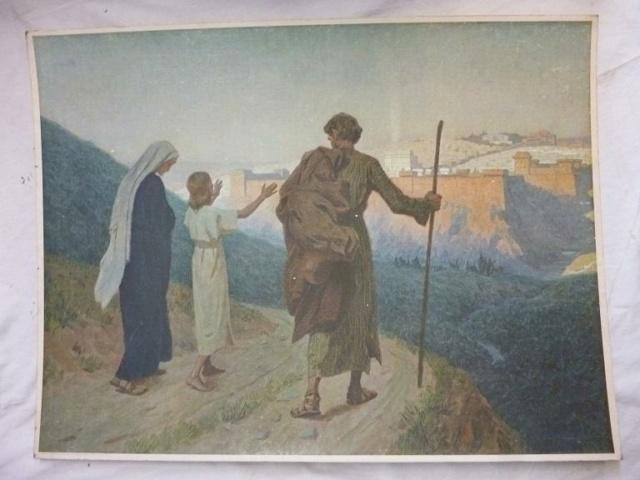 Gebhard Fugel (1863-1939), peintre allemand d'art sacré. 32_22710