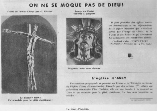 Église du Sacré-Cœur d'Audincourt -- L'église d'Assy. 81820110
