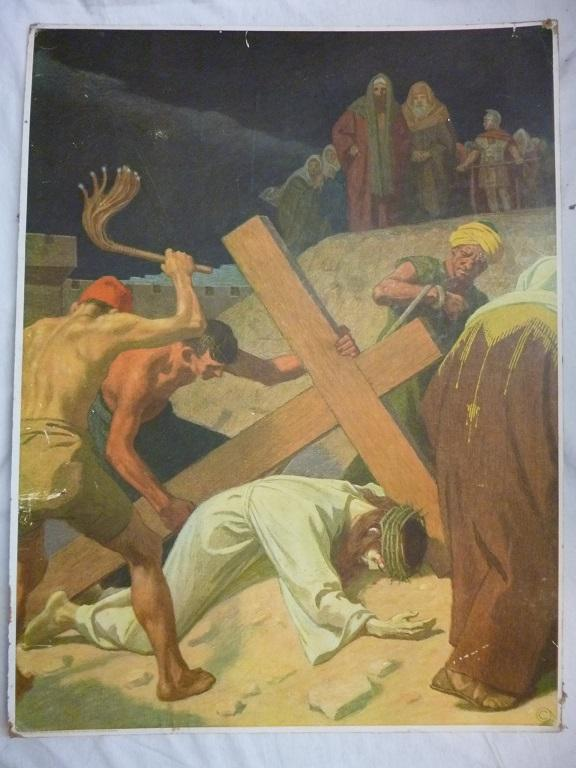 Gebhard Fugel (1863-1939), peintre allemand d'art sacré. 90_22710