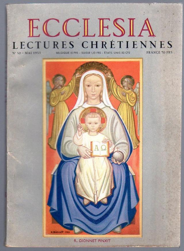 René Dionnet, peintre français d'art sacré 95781510