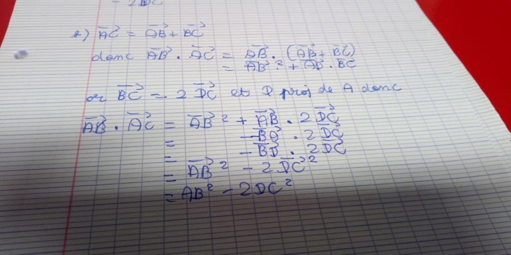 Devoir Maison Vecteurs | Exercice 97 page 228 Hyperbole P_202012