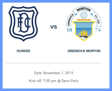 DUNDEE v MORTON 1st NOVEMBER Screen14