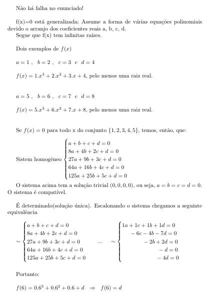 Seja f uma função real tal que...... I212