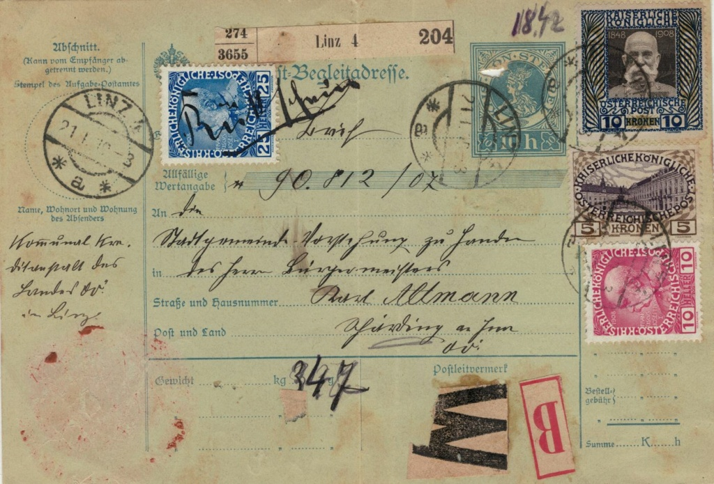 Die Freimarkenausgabe 1908 - Seite 8 10_kro10