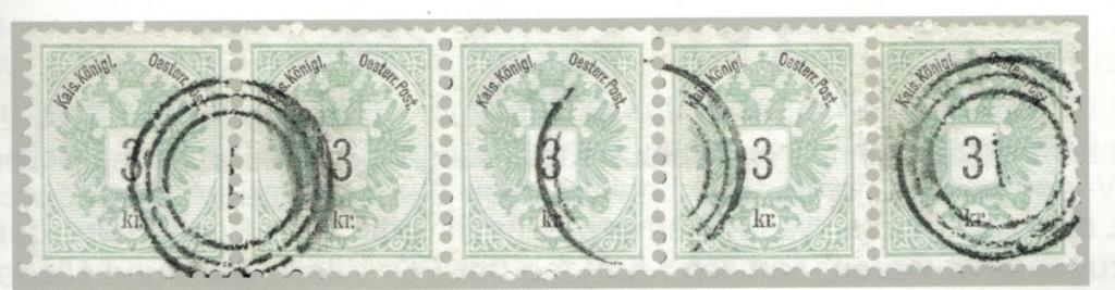 Nachtrag - Freimarken-Ausgabe 1867 : Kopfbildnis Kaiser Franz Joseph I - Seite 23 188311