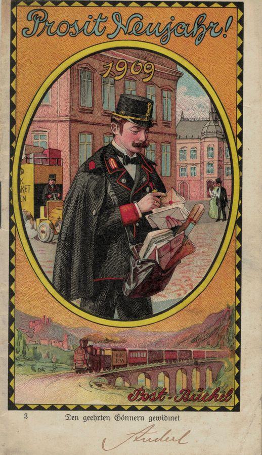 Postbüchl - Das kleine Postbuch 190910