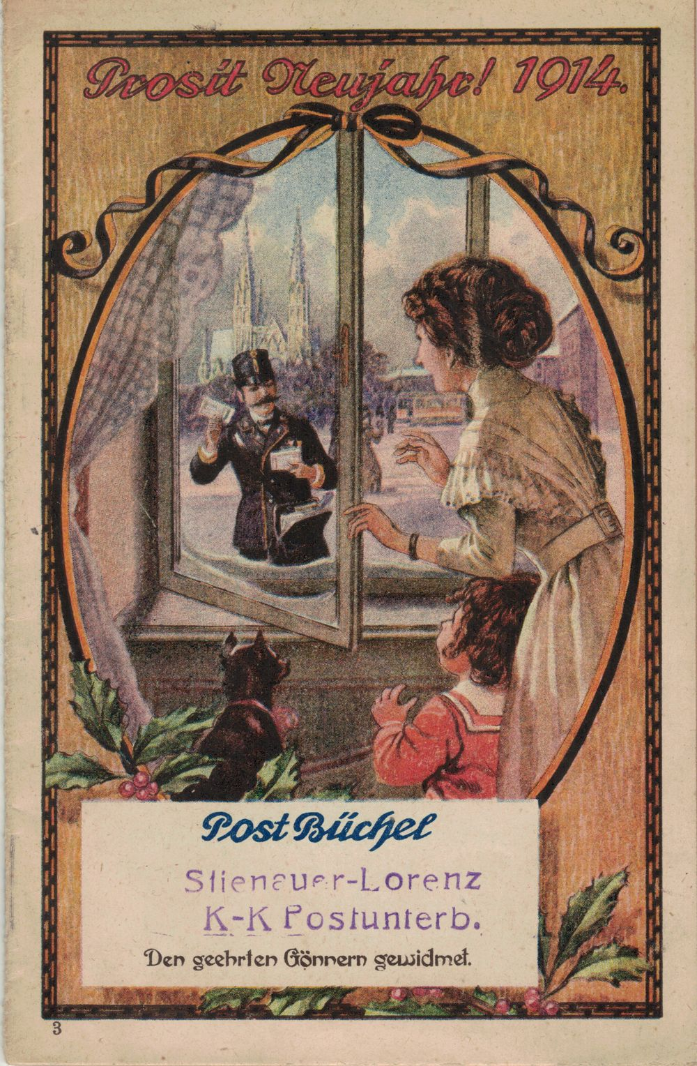 Postbüchl - Das kleine Postbuch 191410