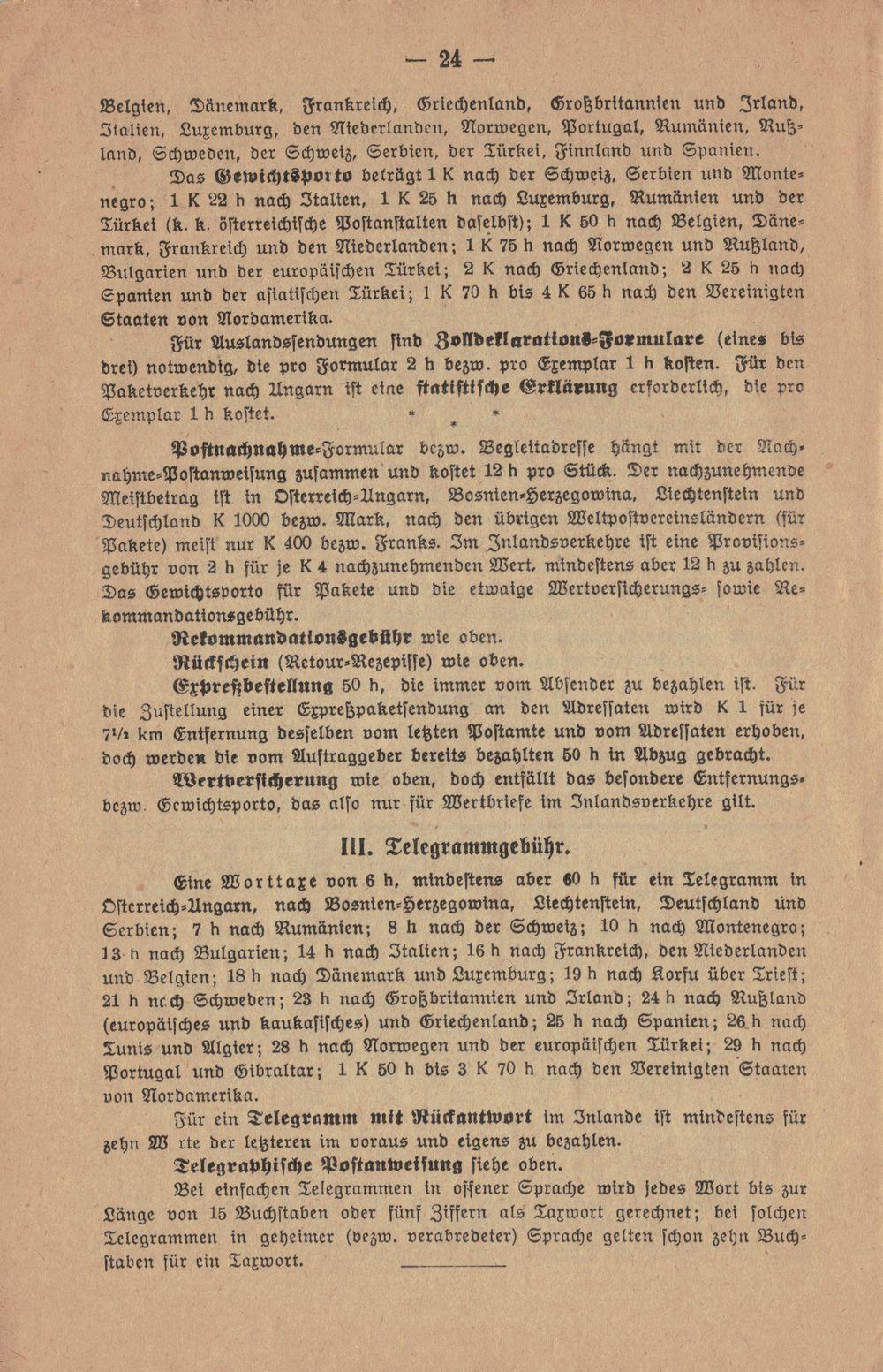 Postbüchl - Das kleine Postbuch 1914_g11
