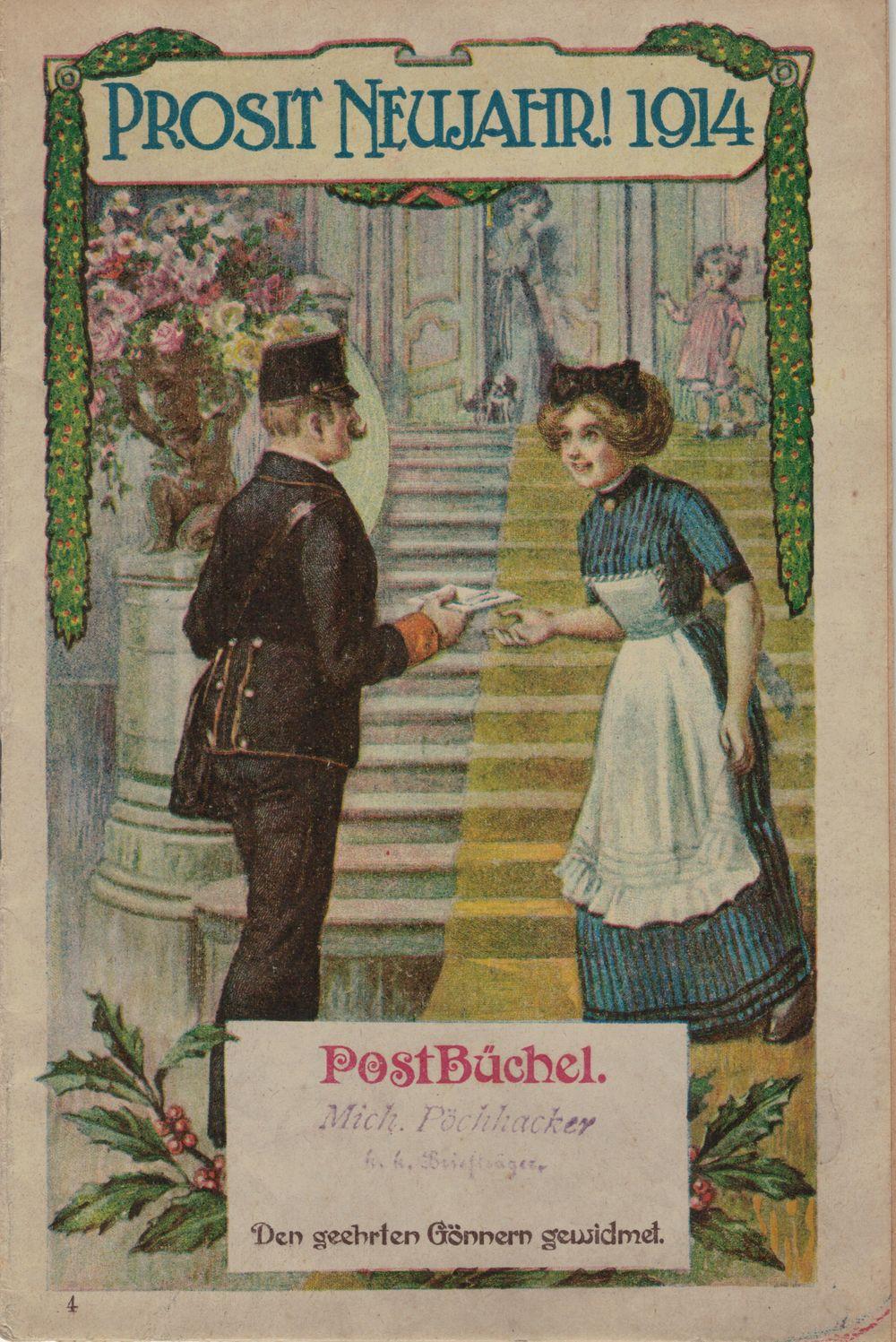 Postbüchl - Das kleine Postbuch 1914_i10