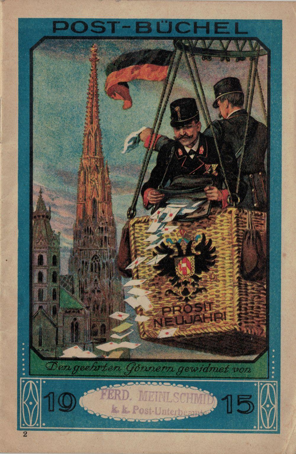 Postbüchl - Das kleine Postbuch 191510