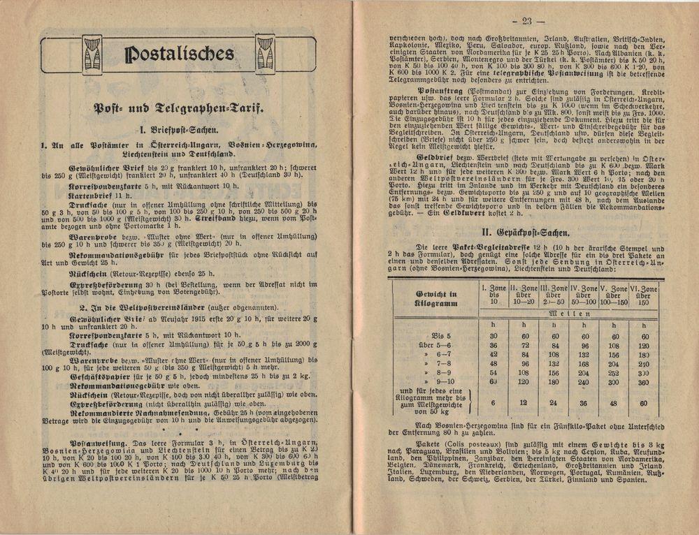 Postbüchl - Das kleine Postbuch 1915_g10