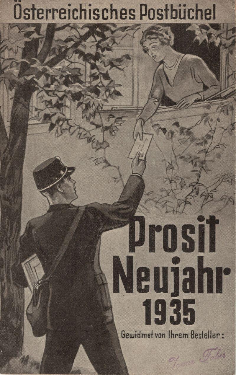 Postbüchl - Das kleine Postbuch 193511