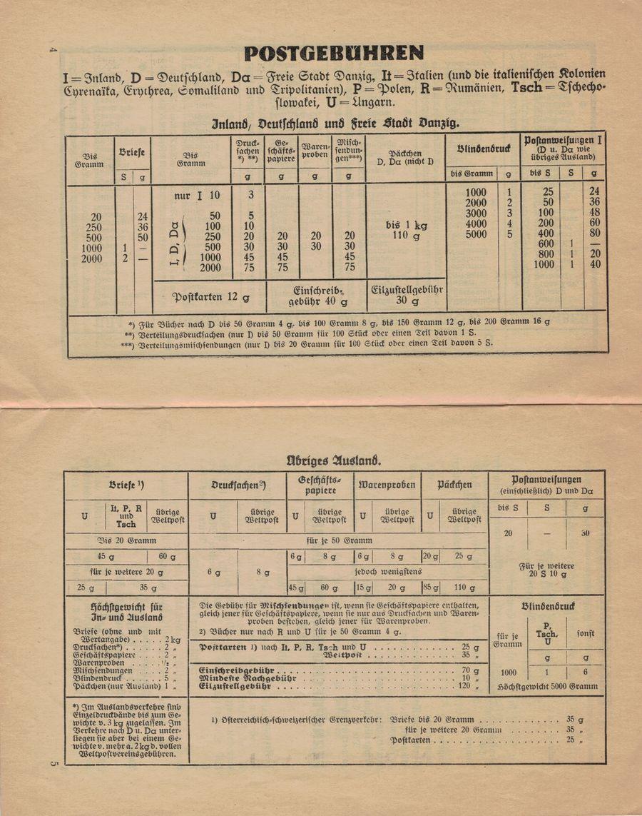 Postbüchl - Das kleine Postbuch 1935_i10