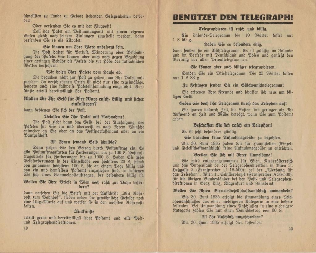Postbüchl - Das kleine Postbuch 1935_i13