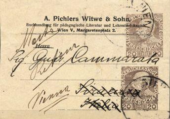 Privatganzsachen von A. Pichlers Witwe & Sohn 2020_z10