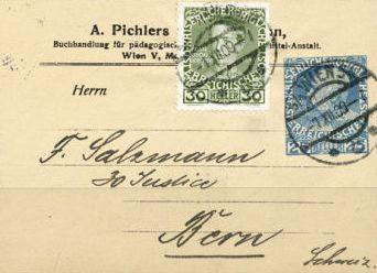 Privatganzsachen von A. Pichlers Witwe & Sohn 2530_z10